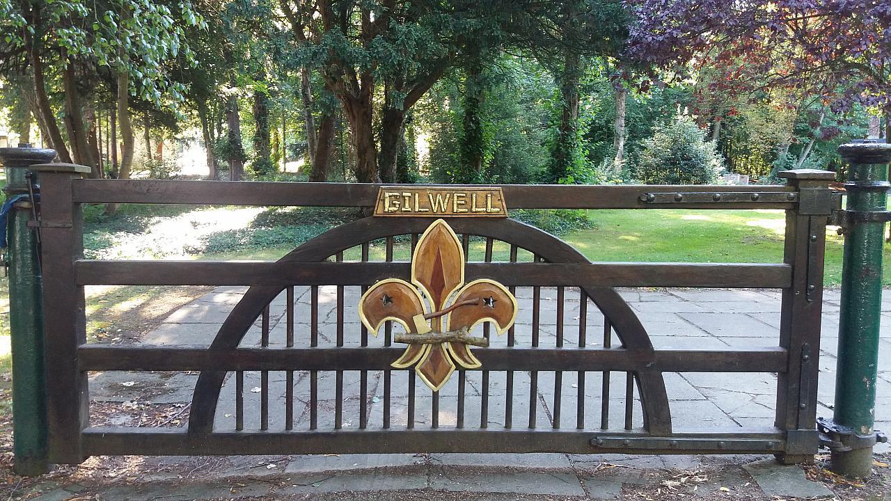 Gilwell Park sign